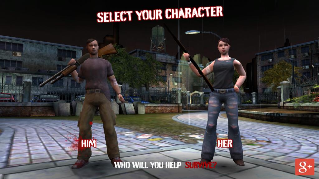 Zombies HQ Personaje