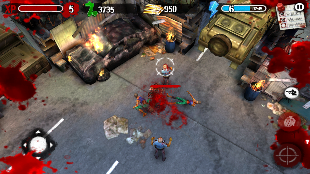 Zombies HQ Combate
