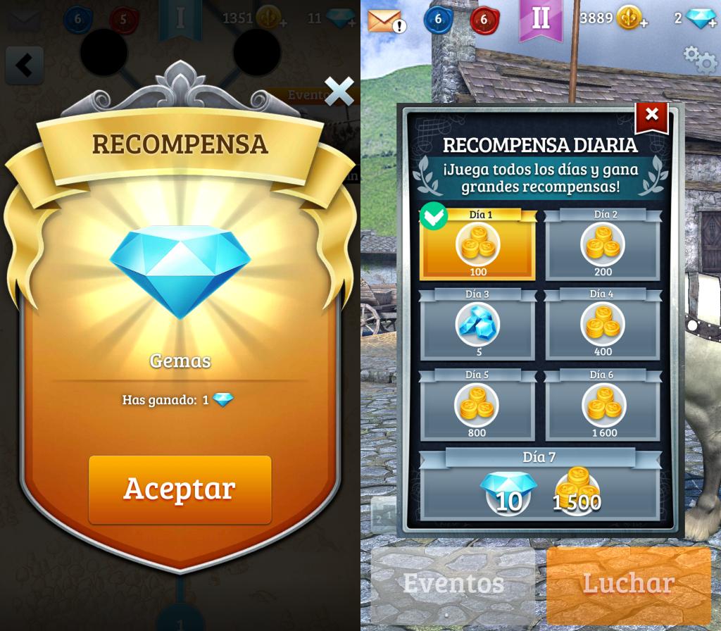 Recompensa Gemas