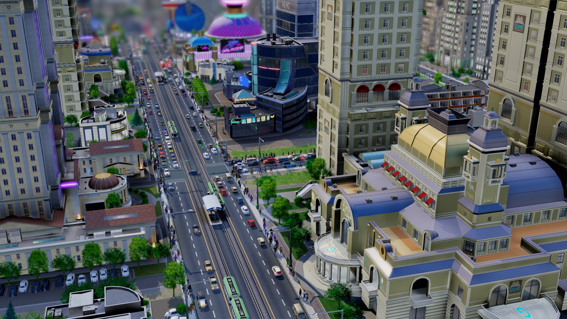 SimCity-Gameplay
