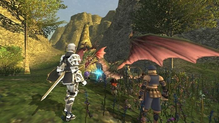 Final Fantasy XI Gameplay